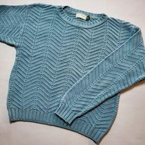 L.L. Bean | Vintage Crewneck Sweater Cotton 80/90s